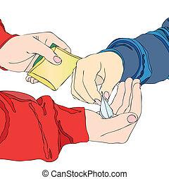 Un traficante de drogas