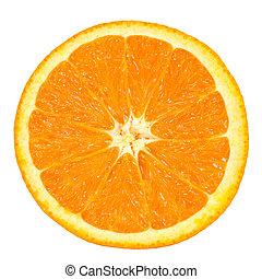 Un trozo de naranja