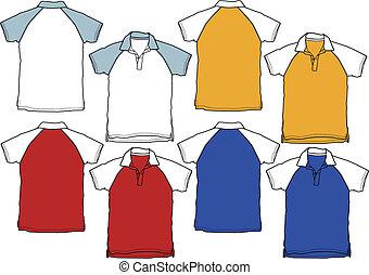 Un uniforme deportivo de boy polo