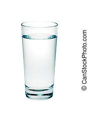 Un vaso de agua