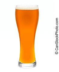 Un vaso de cerveza IPA
