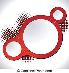 Un vector abstracto redondo. EPS10