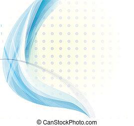 Un vector azul