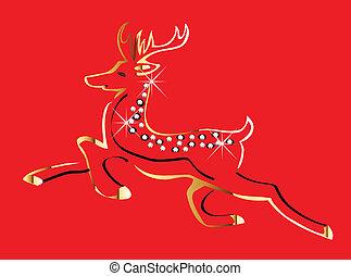 Un vector de navideños