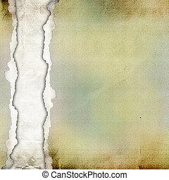 Un viejo fondo de papel roto