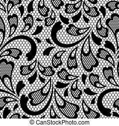 Un viejo patrón de encaje. textura del vector.