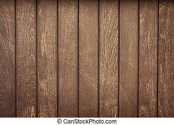 Un viejo tablón de madera