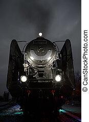 Un viejo tren a vapor