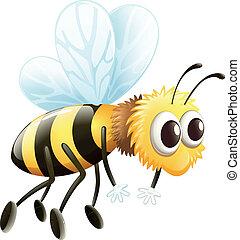 Una abeja