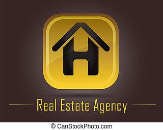 Una agencia de bienes raíces