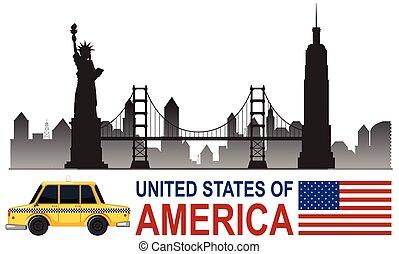 Una atracción turística de Estados Unidos