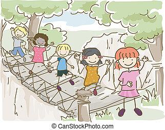 Una aventura en el puente