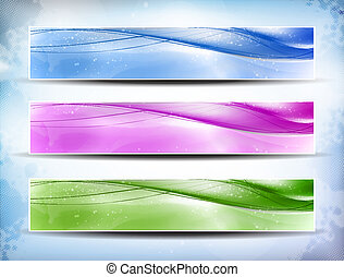 Una bandera colorida