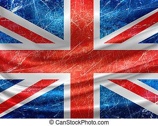 Una bandera inglesa