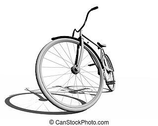 Una bicicleta clásica