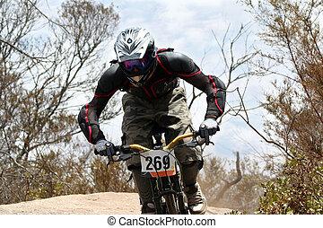 Una bicicleta de montaña
