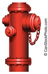 Una boca de incendios