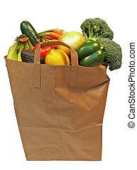 Una bolsa llena