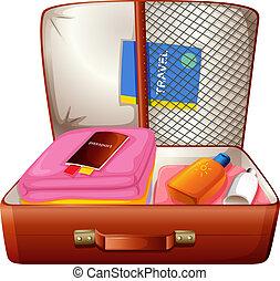 Una bolsa para viajar