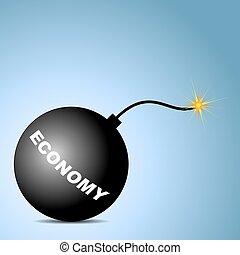Una bomba de economía