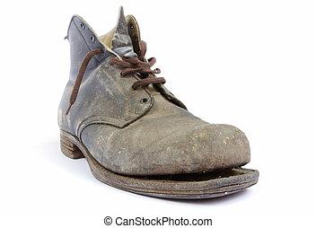 Una bota vieja