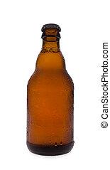 Una botella de cerveza