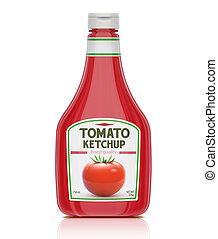 Una botella de Ketchup