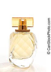 Una botella de perfume
