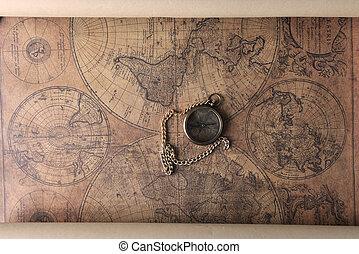 Una brújula en el viejo mapa