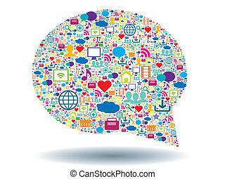 Una burbuja de comunicación