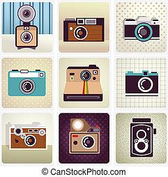 Una cámara antigua