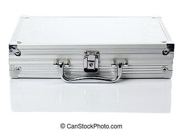 Una caja de plata