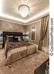 Una cama grande y cómoda