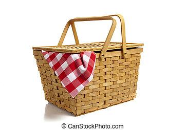 Una canasta de picnic coningham