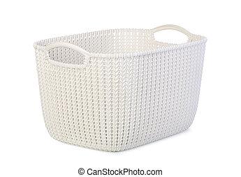 Una canasta de plástico