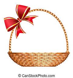 Una canasta de regalos
