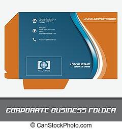 Una carpeta empresarial