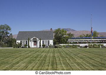 Una casa de campo