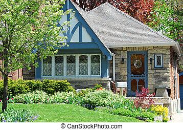 Una casa encantadora