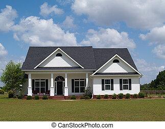 Una casa residencial