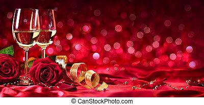 Una celebración romántica de San Valentín