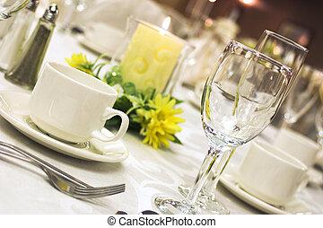 Una cena formal