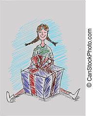 Una chica con un don