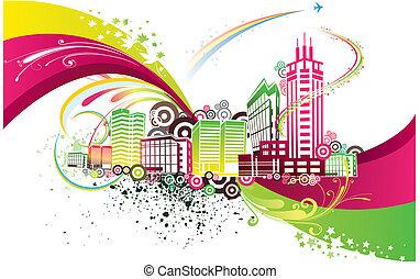 Una ciudad de color
