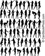 Una colección de bailarinas