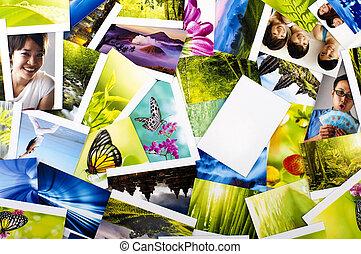 Una colección de fotos