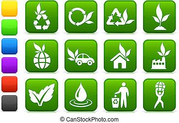 Una colección de iconos más verdes