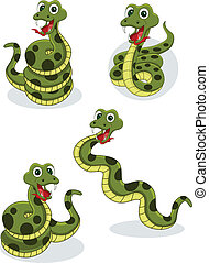Una colección de serpientes