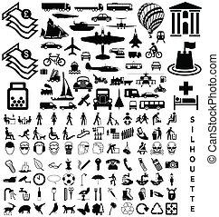 Una colección de siluetas
