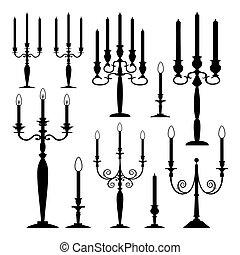 Una colección de velas
